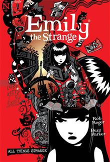 COMPLETE EMILY THE STRANGE ALL THINGS STRANGE HC