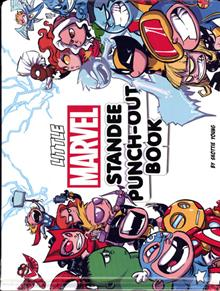 LITTLE MARVEL STANDEE PUNCH-OUT BOOK TP