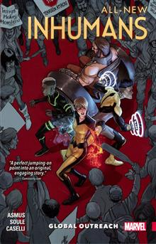 ALL NEW INHUMANS TP VOL 01 GLOBAL OUTREACH