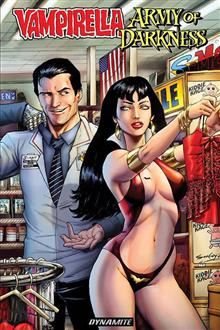 VAMPIRELLA ARMY OF DARKNESS TP