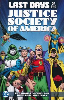 LAST DAYS OF THE JUSTICE SOCIETY OF AMERICA TP
