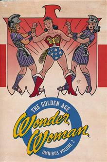 WONDER WOMAN THE GOLDEN AGE OMNIBUS HC VOL 02
