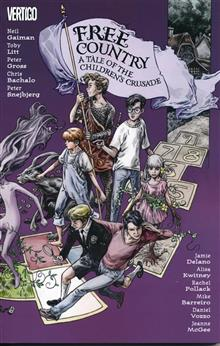 FREE COUNTRY A TALE OF THE CHILDRENS CRUSADE TP (RES) (MR)