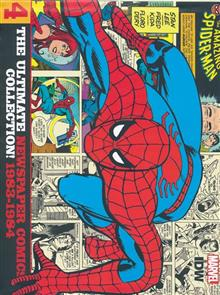 AMAZING SPIDER-MAN ULT NEWSPAPER COMICS HC VOL 04 1983-1984