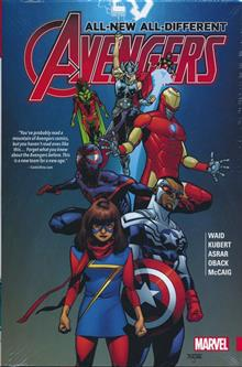 ALL NEW ALL DIFFERENT AVENGERS HC VOL 01