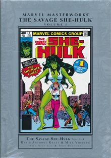 MMW SAVAGE SHE-HULK HC VOL 01