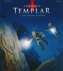 LAST TEMPLAR GN VOL 03 SUNKEN CHURCH