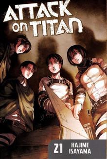 ATTACK ON TITAN GN VOL 21