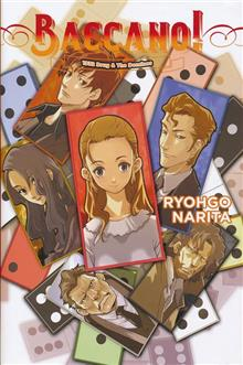 BACCANO LIGHT NOVEL HC VOL 04 DRUG & DOMINOS