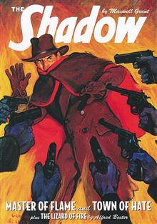 SHADOW DOUBLE NOVEL VOL 117 MASTER OF FLAME & TOWN OF HATE