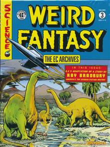 EC ARCHIVES WEIRD FANTASY HC VOL 03