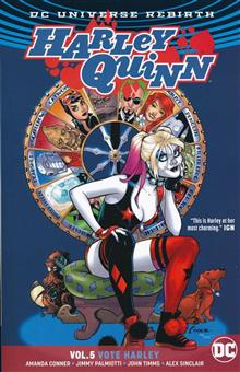 HARLEY QUINN TP VOL 05 VOTE HARLEY REBIRTH