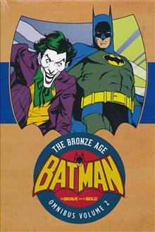 BATMAN BRAVE & THE BOLD BRONZE AGE OMNIBUS HC VOL 02