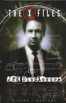X-FILES JFK DISCLOSURE HC