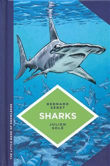 LITTLE BOOK OF KNOWLEDGE HC SHARKS