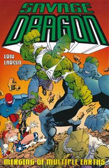 SAVAGE DRAGON MERGING OF MULTIPLE EARTHS TP (MR)