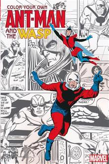 COLOR YOUR OWN ANT-MAN AND WASP TP