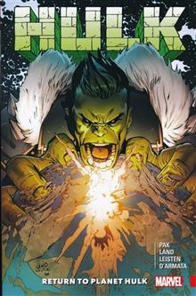 HULK RETURN TO PLANET HULK TP