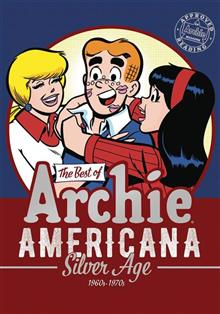 BEST OF ARCHIE AMERICANA TP VOL 02 SILVER AGE