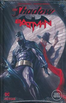 SHADOW BATMAN HC ORLANDO SGN ED