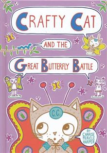 CRAFTY CAT & GREAT BUTTERFLY HC