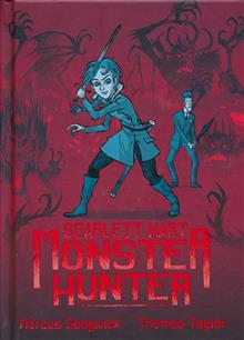 SCARLETT HART MONSTER HUNTER HC GN VOL 01