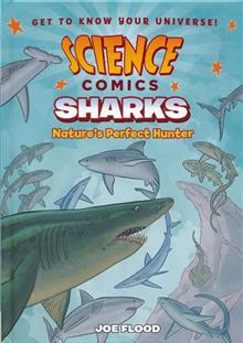 SCIENCE COMICS SHARKS HC GN
