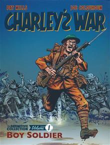 CHARLEYS WAR DEFINITVE COLL TP VOL 01 BOY SOLDIER (C: 0-1-1)