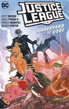 JUSTICE LEAGUE TP VOL 02 GRAVEYARD OF GODS