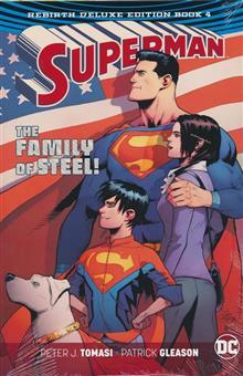 SUPERMAN REBIRTH DLX COLL HC BOOK 04