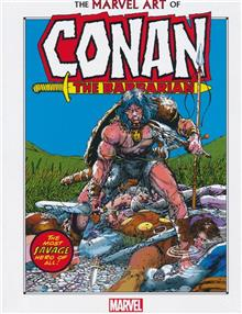 MARVEL ART OF CONAN THE BARBARIAN HC