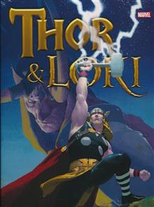 THOR AND LOKI HC BLOOD BROTHERS NEW PTG