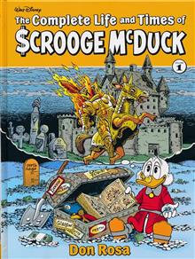 COMPLETE LIFE & TIMES SCROOGE MCDUCK HC VOL 01 ROSA