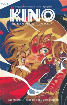 CATALYST PRIME KINO TP VOL 03 MAN IN IRON MASK