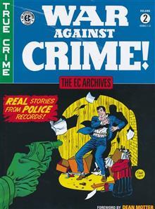 EC ARCHIVES WAR AGAINST CRIME HC VOL 02