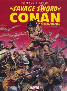 MARVEL ART OF SAVAGE SWORD OF CONAN HC (MR)