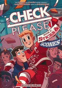 CHECK PLEASE HOCKEY GN VOL 02 STICKS & SCONES (C: 1-1-0)