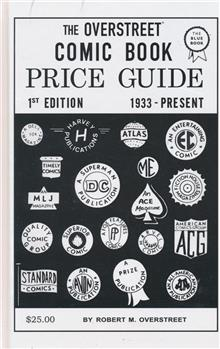 OVERSTREET COMIC BOOK PRICE GUIDE #1 FACSIMILE ED HC