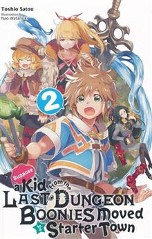 KID FROM DUNGEON BOONIES MOVED STARTER TOWN NOVEL SC VOL 02