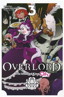 OVERLORD UNDEAD KING OH GN VOL 03