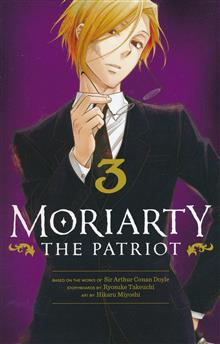 MORIARTY THE PATRIOT GN VOL 03