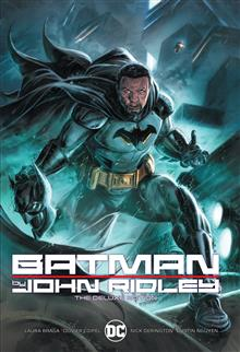 BATMAN BY JOHN RIDLEY THE DELUXE EDITION HC