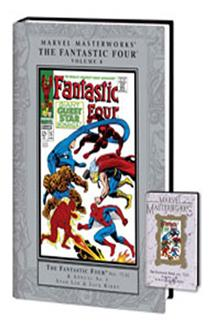 MARVEL MASTERWORKS FANTASTIC FOUR VOL 8 NEW ED HC