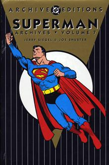 SUPERMAN ARCHIVES VOL 7 HC