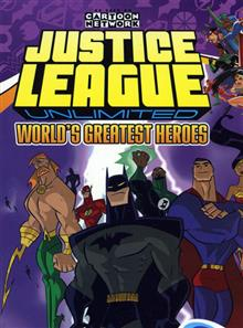JUSTICE LEAGUE UNLIMITED VOL 2 WORLDS GREATEST HEROES TP