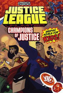 JUSTICE LEAGUE UNLIMITED VOL 3 CHAMPIONS OF JUSTICE TP