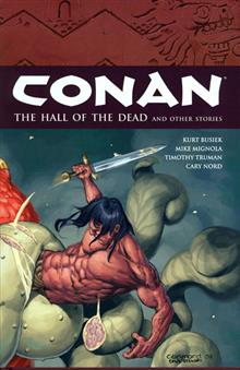 CONAN HALL O/T DEAD & OTHER STORIES VOL 4 HC
