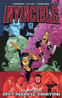 INVINCIBLE VOL 8 MY FAVORITE MARTIAN TP