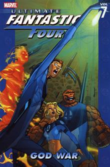 ULTIMATE FANTASTIC FOUR VOL 7 GOD WAR TP