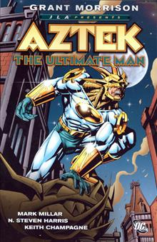 JLA PRESENTS AZTEK THE ULTIMATE MAN TP